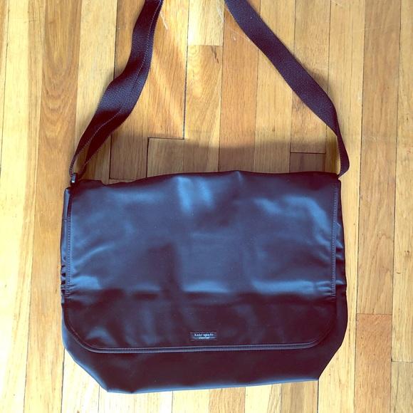 Kate Spade nylon laptop messenger bag